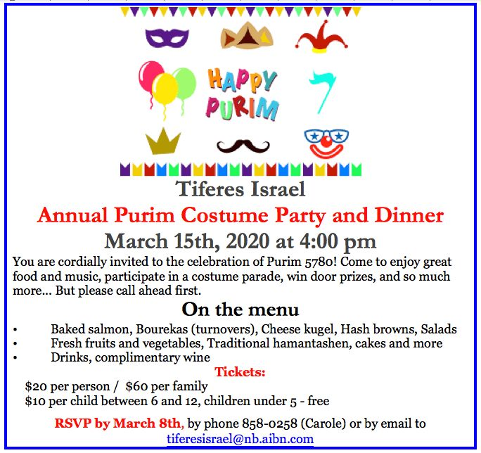 Purim Party