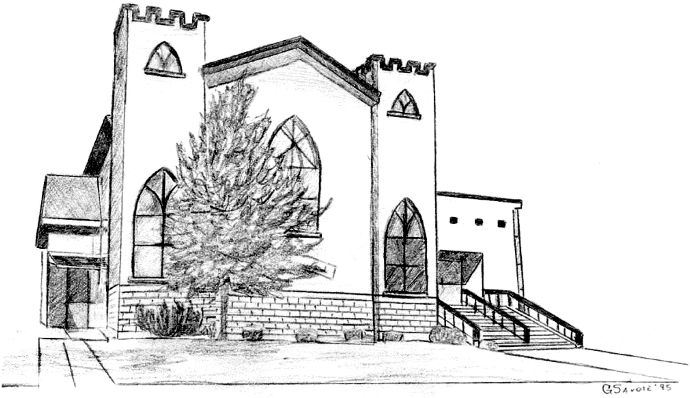 Synagogue Sketch